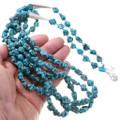 Arizona Turquoise Navajo Beaded Necklace 39755