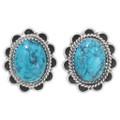 Navajo Turquoise Post Earrings 39793