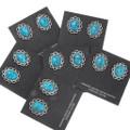 Bisbee II Turquoise Sterling Silver Earrings 39793