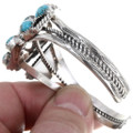 Native American Sterling Silver Turquoise Cuff Bracelet 39811