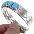 Classic Navajo Turquoise Bracelet 39813