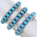 Sleeping Beauty Turquoise Native American Bracelet 39813