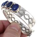 Lapis Lazuli Native American Cuff Bracelet 39814