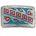 Turquoise Chip Inlay Example 37095