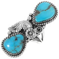Matching Navajo Made Turquoise Ring 39848