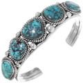 Matching Turquoise Cuff Bracelet Necklace Set 39848