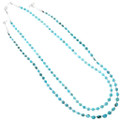 Native American Turquoise Beaded Necklace 39855