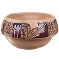 Native American Hand Made Polychrome Pottery 39861