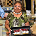 Native American Craftswoman Lisa Wylie 39888