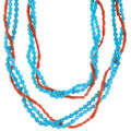 Native American Sleeping Beauty Turquoise Necklace 39916
