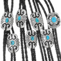 Quality Bolo Tie Natural Turquoise 39938