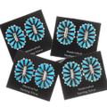 Sleeping Beauty Turquoise Western Post Earrings 39980