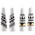 Navajo Sterling Silver Gold Earrings 39983