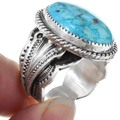 Blue Turquoise Mens Ring 39998