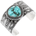 Sterling Silver Natural Turquoise Cuff Bracelet