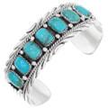 Native American Kingman Turquoise Bracelet 40030