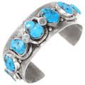 Arizona Turquoise Zuni Snake Bracelet 40070