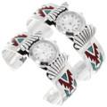 Native American Turquoise Watch Cuff Bracelets 40096