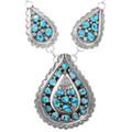 Vintage Sleeping Beauty Turquoise Necklace 40107