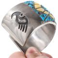 Native American Turquoise Inlay Bracelet 40133