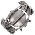 Authentic Vintage Zuni Kachina Design Cuff Bracelet 40151