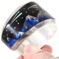 Opal Lapis Native American Inlay Bracelet 40155