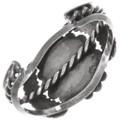 Vintage Natural Blue Diamond Turquoise Silver Sterling Silver Bracelet 40159