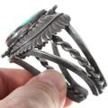 Old Pawn Navajo Natural Turquoise Bracelet 40159