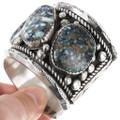 Navajo Sterling Silver Cuff Bracelet 40181