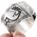 Native American Kokopelli Symbol Watch Cuff 40204