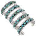Gemmy Natural Turquoise Cuff Bracelet 40224