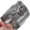 Corn Stalk Kachina Hopi Symbols Silver Bracelet 40227