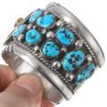 Vintage Sleeping Beauty Turquoise Cuff Bracelet 40228