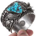 Highest Grade Natural Arizona Turquoise Nugget Bracelet 40241