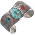 Vintage Royston Turquoise Navajo Bracelet 40276