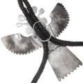 Authentic Francisco Gomez Silver Kachina Bolo Tie Artist Signed 40292