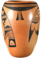 Traditional Hopi Pottery Stylized Geometric Painted Designs 40314