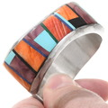 Extremely Well-Made Spiny Oyster Inlay Bracelet 40364