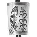 Native American Hopi Silver Overlay Bolo Tie 40374