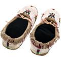 Beaded Eagle Design Native American Moccasins 40422