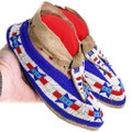Authentic Native American Leather Moccasins 40423