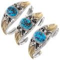 Arizona Turquoise Navajo Bracelet Hand Made 17624