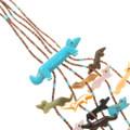 Zuni Turquoise Animal Fetish Necklace 40443