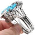 Navajo Blue Turquoise Ladies Bracelet 21063
