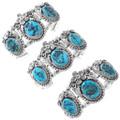 Genuine Kingman Turquoise Bracelet Stone Variations 21063