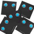 Sterling Silver Turquoise Post Earrings 32010