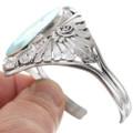 Spiderweb Turquoise Inlay Ladies Bracelet 40601