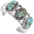Matching Arizona Turquoise Sterling Silver Bracelet 23321