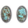 Native American Turquoise Earrings Necklace Bracelet Set 23321