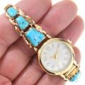 Native American Vintage Arizona Turquoise Watch 40623